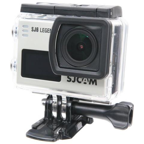 Купить видеокамера экшн SJCAM SJ6LEGEND Silver (10012637) в Москве, в Спб и в России