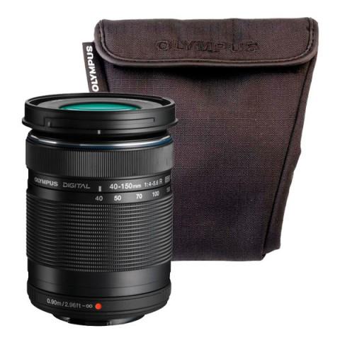 Фотография товара объектив Olympus 40-150mm 1:4.0-5.6 R черный + OM-D Wrapping case (10012748)