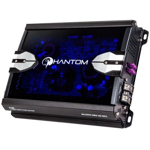 Фотография товара автомобильный усилитель (1 канал) Phantom LX 1.600 (10012759)
