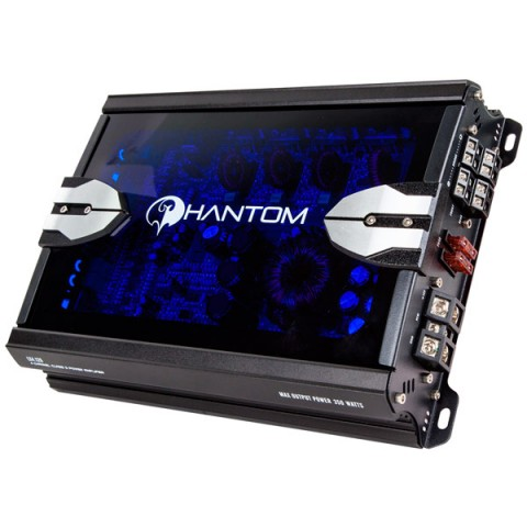Фотография товара автомобильный усилитель (4 канала) Phantom LX 4.120 (10012800)