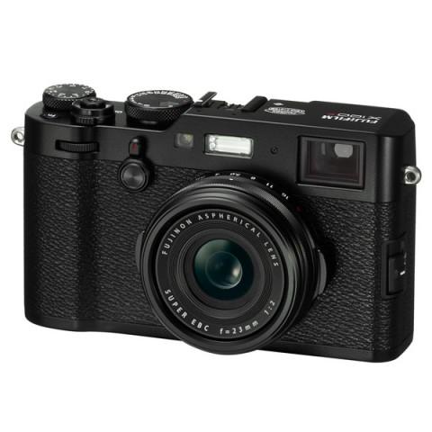 Фотография товара фотоаппарат компактный премиум Fujifilm X100F Black (10012895)