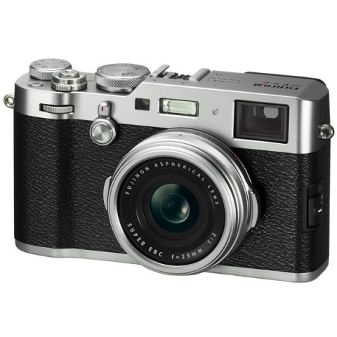Фотография товара фотоаппарат компактный премиум Fujifilm X100F Silver (10012896)