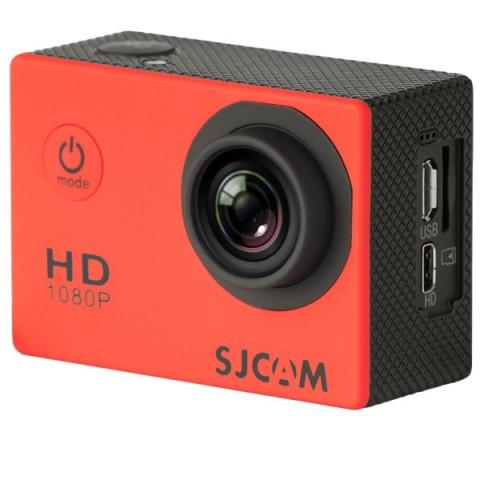 Купить видеокамера экшн SJCAM SJ4000 Красный (10012899) в Москве, в Спб и в России