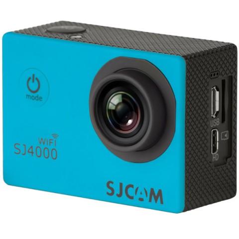 Фотография товара видеокамера экшн SJCAM SJ4000 WiFi Синий (10012902)
