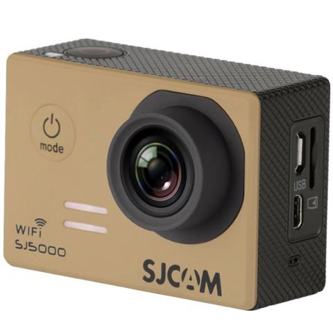 Фотография товара видеокамера экшн SJCAM SJ5000 WiFi Золотистый (10012909)
