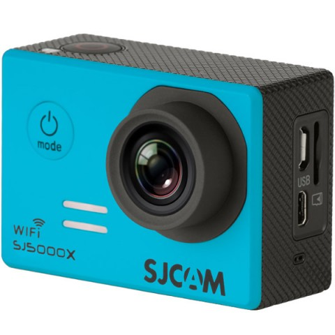 Купить видеокамера экшн SJCAM SJ5000X Elite Синий (10012914) в Москве, в Спб и в России