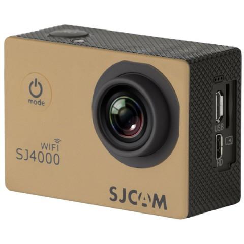 Купить видеокамера экшн SJCAM SJ4000 WiFi Gold (10013029) в Москве, в Спб и в России