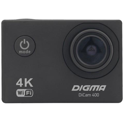 Фотография товара видеокамера экшн Digma DiCam 400 черный (10013052)