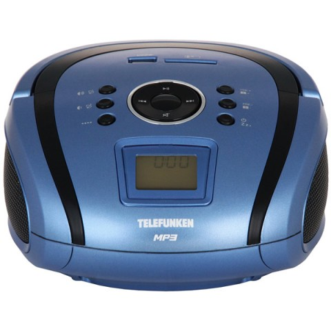 Фотография товара магнитола Telefunken TF-SRP3449 Blue with Black (10013076)