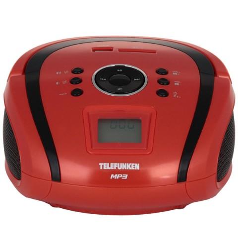 Фотография товара магнитола Telefunken TF-SRP3449 Red with Black (10013077)