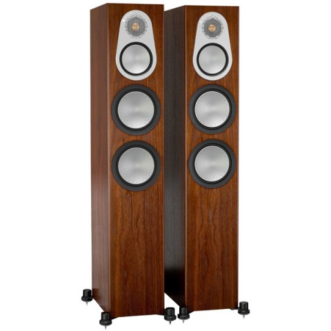 Купить напольные колонки Monitor Audio Silver 300 Walnut (10013120) в Москве, в Спб и в России