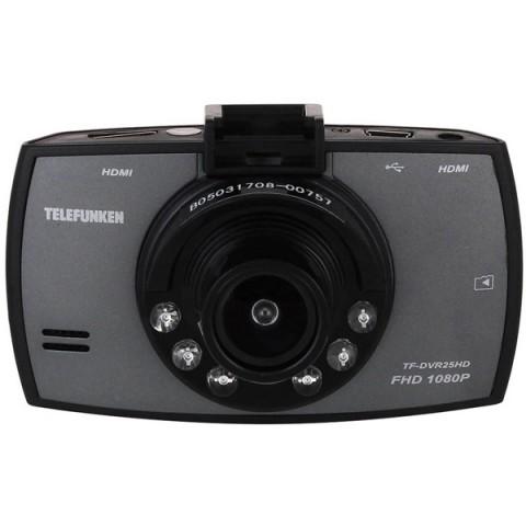 Купить видеорегистратор Telefunken TF-DVR25HD Black (10013128) в Москве, в Спб и в России