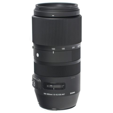 Купить объектив Sigma 100-400mm F/5-6.3 DG OS HSM C (10013281) в Москве, в Спб и в России