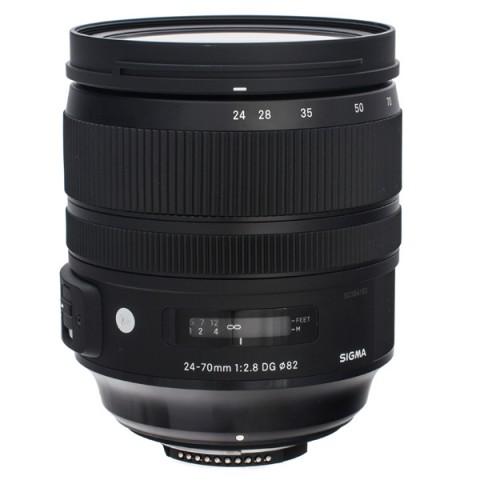 Купить объектив премиум Sigma 24-70mm f/2.8 DG OS HSM A (10013284) в Москве, в Спб и в России