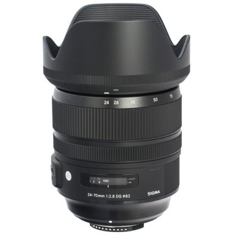 Фотография товара объектив премиум Sigma 24-70mm f/2.8 DG OS HSM A (10013285)