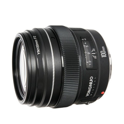 Купить объектив Yongnuo 100 f/2.0 (10013286) в Москве, в Спб и в России
