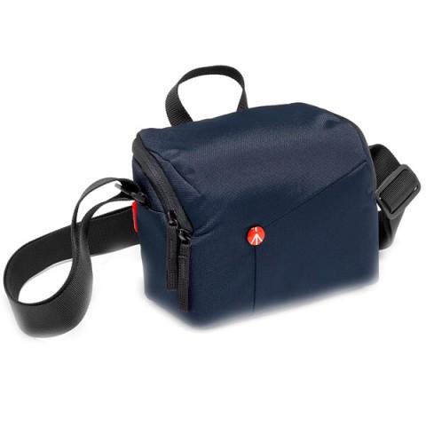 Фотография товара сумка премиум Manfrotto NX Shoulder Bag CSC Blue V2 (MB NX-SB-IBU-2) (10013338)