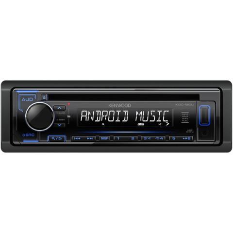 Фотография товара автомобильная магнитола с CD MP3 Kenwood KDC-120UB + USB 8Gb (10013391)