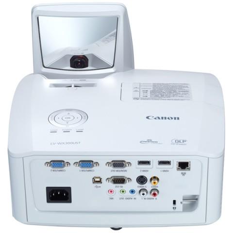 Фотография товара видеопроектор мультимедийный Canon LV-WX300UST (10013419)