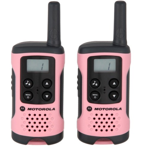 Фотография товара радиостанция Motorola TLKR T41 Pink (2 штуки) (10013448)