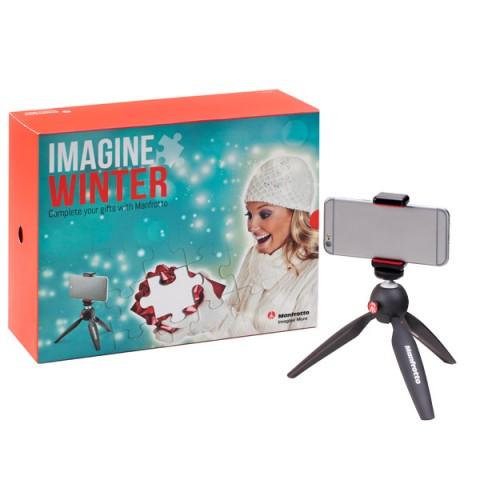 Фотография товара премиальный фотоаксессуар Manfrotto Комплект: MTPIXI-B + MCLAMP (10013455)