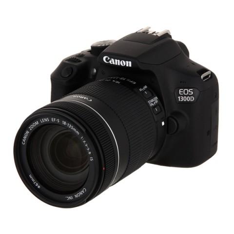 Фотография товара фотоаппарат зеркальный Canon EOS 1300D EF-S 18-135mm f/3.5-5.6 IS (10013457)