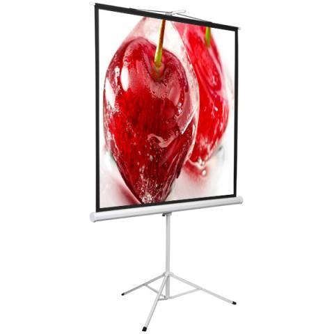 """Фотография товара экран для видеопроектора Digis Kontur-D, 1:1, 112"""", 206x209, MW (DSKD-1106) (10013479)"""