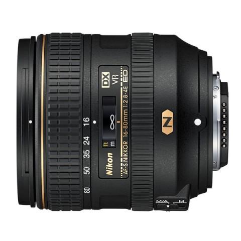 Фотография товара объектив Nikon AF-S DX NIKKOR 16-80mm f/2.8-4E ED VR (10013516)