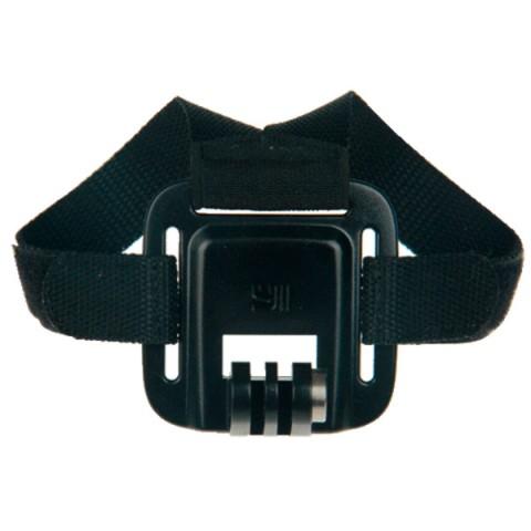 Фотография товара аксессуар для экшн камер Yi Крепление на шлем черное (10013535)