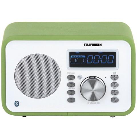 Фотография товара радиоприемник Telefunken TF-1581UB Green (10013575)