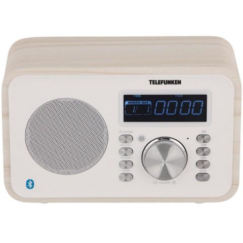 Фотография товара радиоприемник Telefunken TF-1581UB White Wood (10013578)