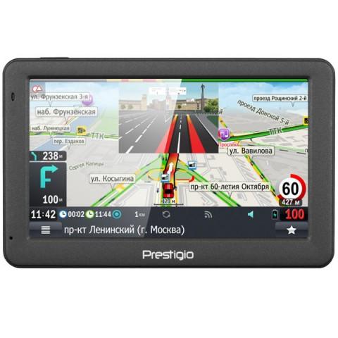 Фотография товара портативный GPS-навигатор Prestigio GeoVision 5059 (PGPS5059CIS04GBPG) (10013609)