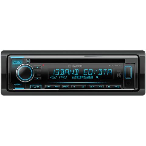 Фотография товара автомобильная магнитола с CD MP3 Kenwood KDC-320UI (10013615)