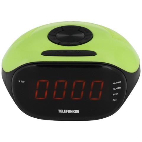 Фотография товара радио-часы Telefunken TF-1574 Green/Amber (10013617)