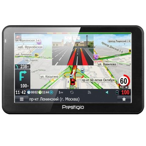 Фотография товара портативный GPS-навигатор Prestigio GeoVision 5068 (PGPS5068CIS04GBPG) (10013640)