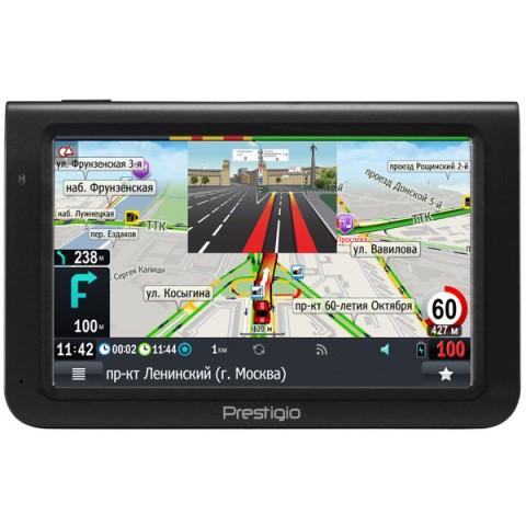 Фотография товара портативный GPS-навигатор Prestigio GeoVision 5069 (PGPS5069CIS04GBPG) (10013641)