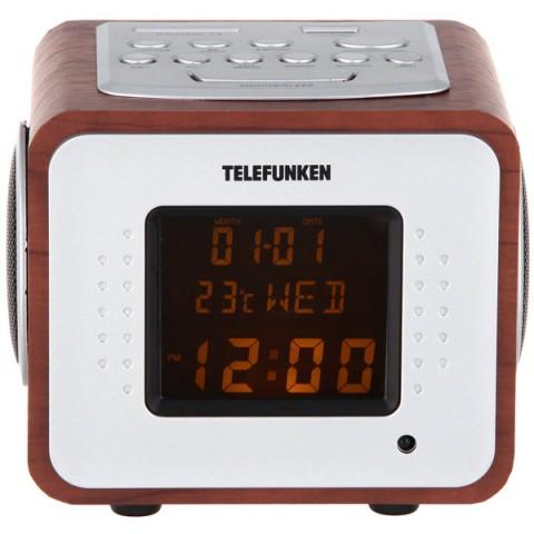 Фотография товара радиоприемник Telefunken TF-1575U Dark Wood/Amber (10013743)