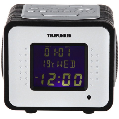 Фотография товара радиоприемник Telefunken TF-1575U Black Wood/Purple (10013744)