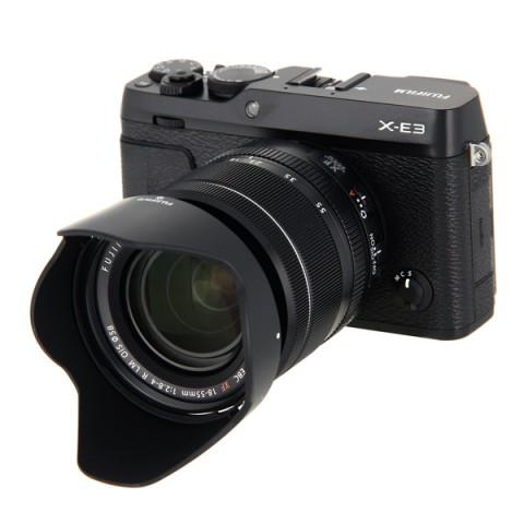 Фотография товара фотоаппарат системный премиум Fujifilm X-Е3 Kit 18-55mm Black (10013792)
