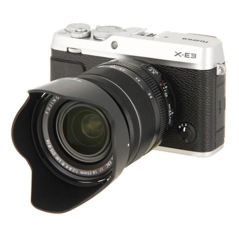 Фотография товара фотоаппарат системный премиум Fujifilm X-Е3 Kit 18-55mm Silver (10013793)