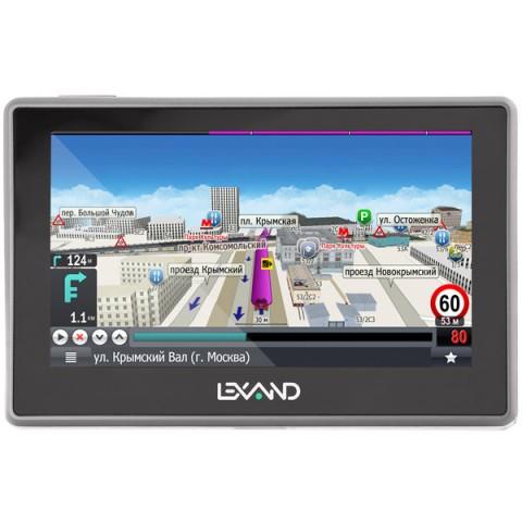 Фотография товара портативный GPS-навигатор Lexand SA5 HD Прогород (Россия+60 стран) (10013838)