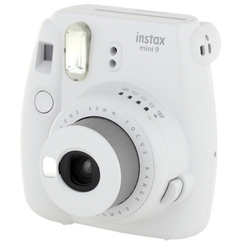 Фотография товара фотоаппарат моментальной печати Fujifilm INSTAX MINI 9 Smokey White Set (10013906)