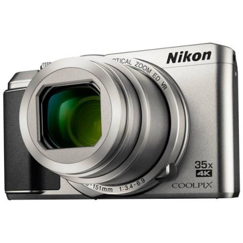 Фотография товара фотоаппарат компактный Nikon Coolpix A900 серебряный (10013914)