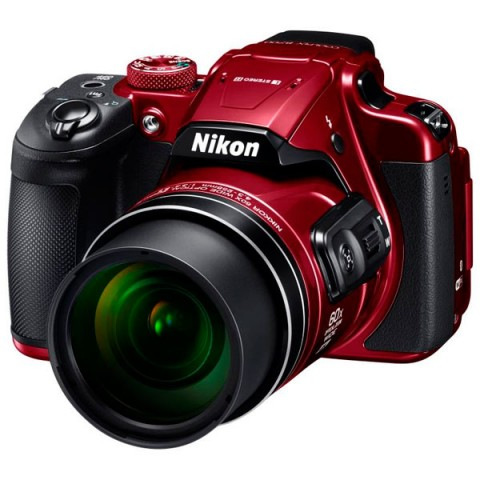 Фотография товара фотоаппарат компактный Nikon Coolpix B700 красный (10013916)