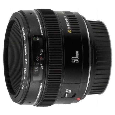 Фотография товара объектив Canon EF50mm f/1.4 USM (11023809)