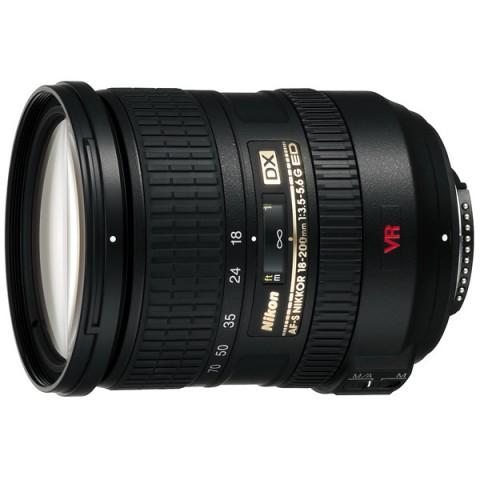 Фотография товара объектив Nikon AF-S DX Nikkor 18-200mm f/3.5-5.6G ED VR II (11031795)
