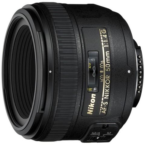 Фотография товара объектив премиум Nikon AF-S Nikkor 50mm f/1.4G (11031979)