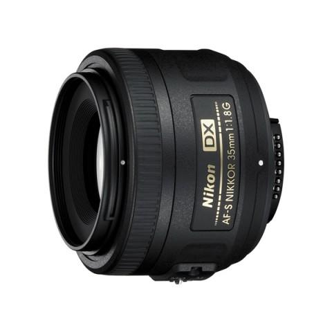 Фотография товара объектив Nikon AF-S DX Nikkor 35mm f/1.8G (11032053)