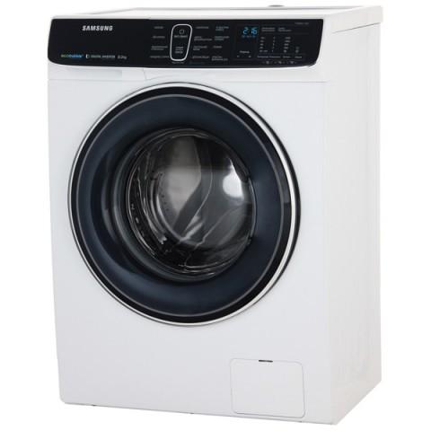 Фотография товара стиральная машина узкая Samsung WW80K52E61W (20036822D)