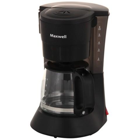 Фотография товара кофеварка капельного типа Maxwell MW-1650 BK (20040770)